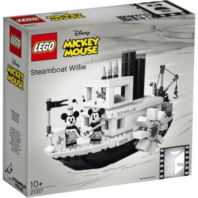 樂高LEGO 迪士尼系列 - LT21317 汽船威利號