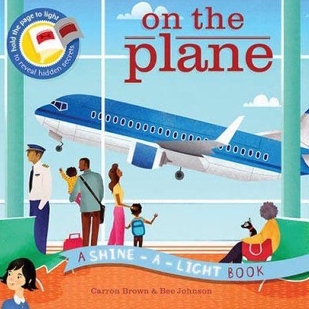 A Shine A Light Book:On The Plane 透光書:飛機篇平裝繪本