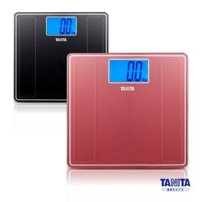 日本TANITA 藍光LED大螢幕電子體重計HD-382