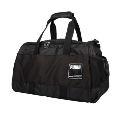 PUMA GYM運動中袋-旅行袋 裝備袋 行李袋 手提袋 肩背袋 健身袋 37L 07736301 黑白