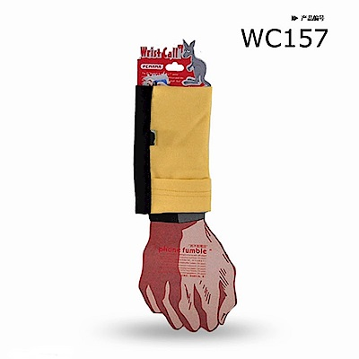 PCMAMA多用途運動手臂套手機套手腕袋手腕套Wrist Bag(黑+黃袍色WC042;可放零錢紙鈔信用卡悠遊卡一卡通)