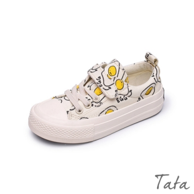 兒童荷包蛋帆布鞋 TATA KIDS