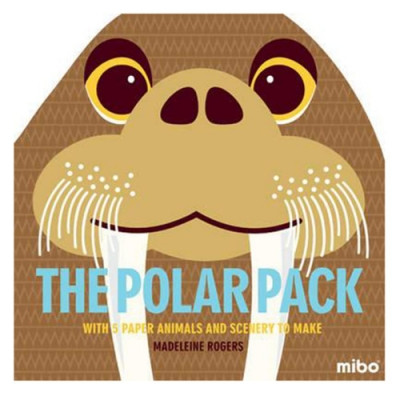 Mibo The Polar Pack 趣味勞作童書-北極世界