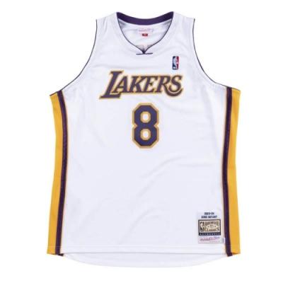 M&N Authentic球員版復古球衣 湖人隊 03-04 #8 Kobe Bryant