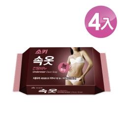 【韓國 MKH無窮花】女性貼身衣物洗衣皂 4入