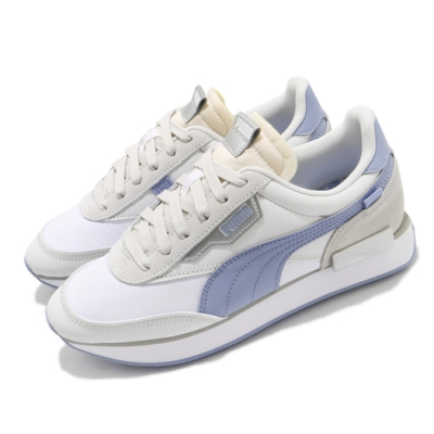Puma 休閒鞋 Future Rider Tones 女鞋 厚底 球鞋 百搭 復古 粉嫩 少女 白 藍 37516402