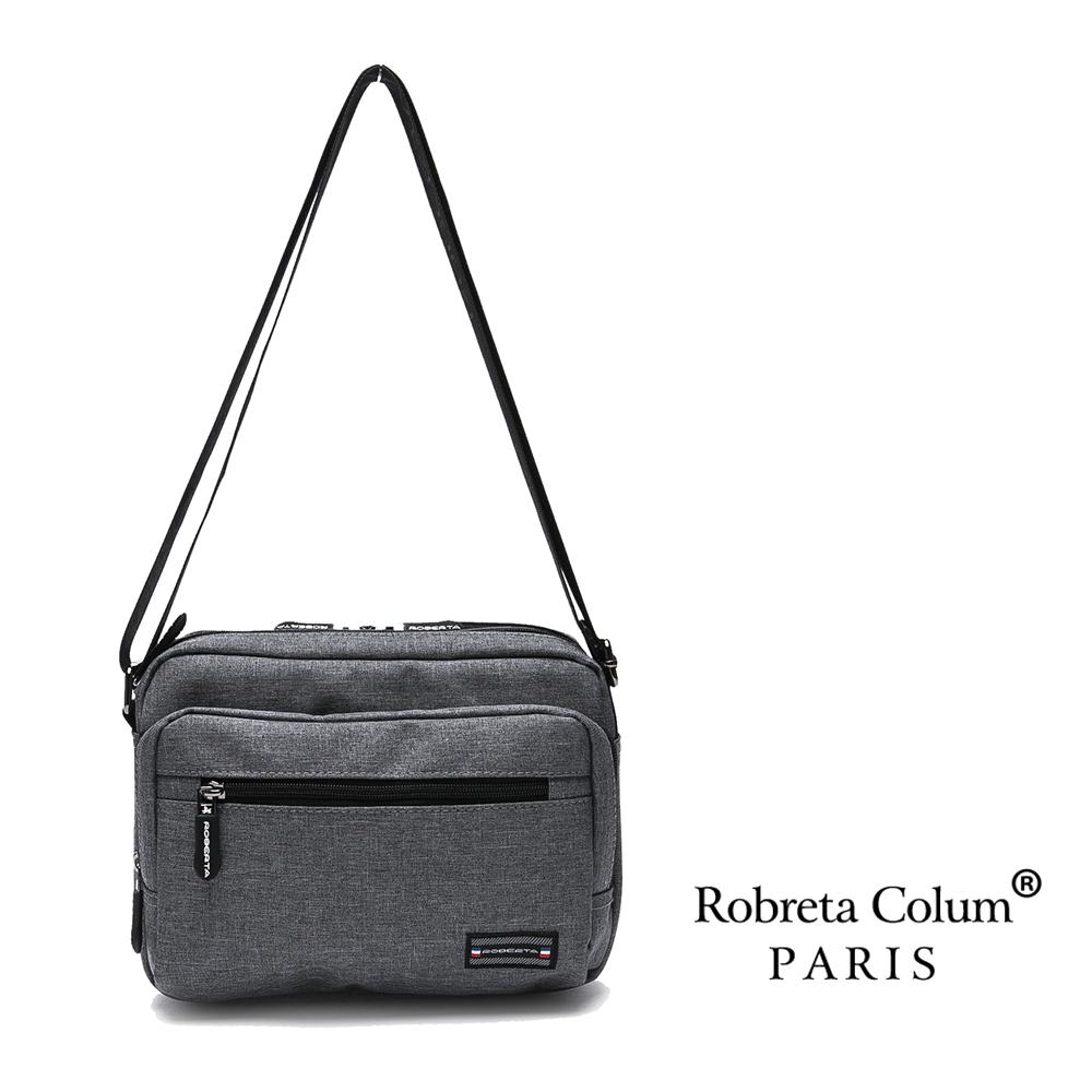 Roberta Colum - 質感嚴選防潑水側背斜背小包-共2色