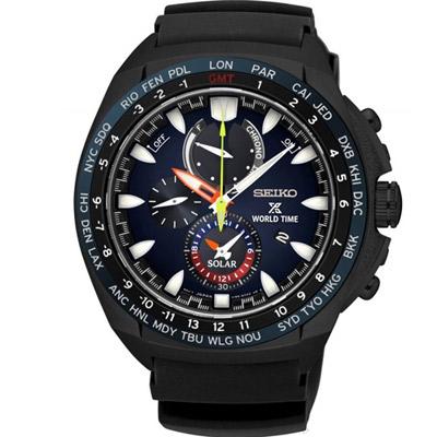 SEIKO 精工 PROSPEX 海洋冒險家航海計時腕錶(SSC551P1)48mm