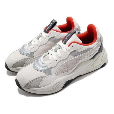 Puma 休閒鞋 RS 2K Attempt 聯名款 男女鞋 海外限定 異材質拼接 情侶穿搭 百搭 灰 銀 373516-01