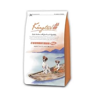 Kingston晶燉無穀狗-27%Protein鮮蔬烤春雞佐蔓越莓1.5kg