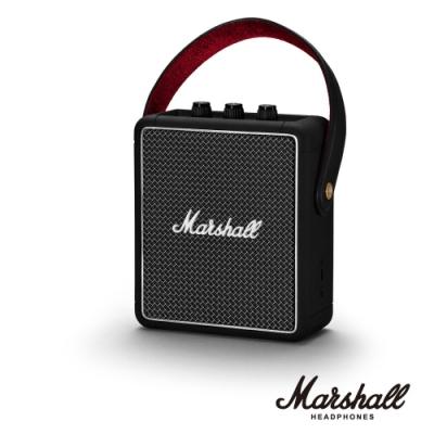 Marshall STOCKWELL II BLACK 無線藍牙喇叭|經典黑