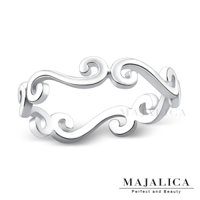 Majalica 925純銀戒指推薦品牌 晴天雲朵女戒尾戒 單個價格(MIT)