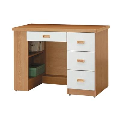 【綠活居】茲辛   現代3.5尺四抽書桌-103.5x57x75.5cm免組
