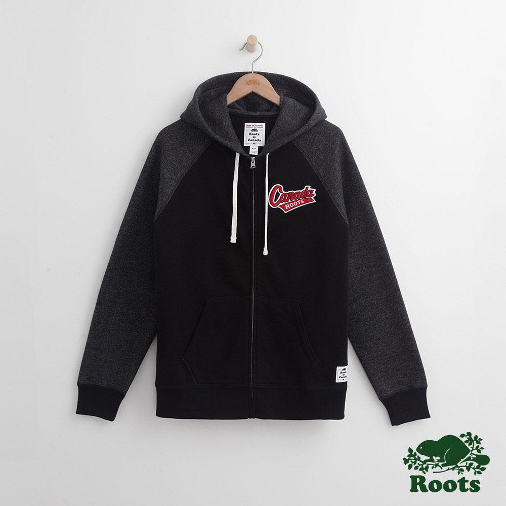 Roots-男裝- 冬季加拿大連帽外套 - 黑