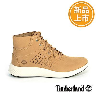 Timberland 男款FlyRoam Chill小麥黃休閒靴