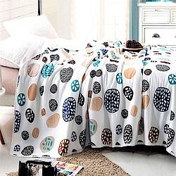 Betrise 圓拾-100%天竺棉針織舒適涼被(150*200cm)
