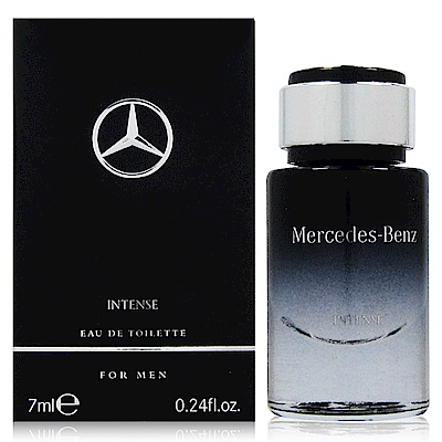 Mercedes Benz INTENSE 極致經典男性淡香水 7ml 禮盒拆售 法國進口