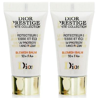 Dior迪奧 精萃再生花蜜淨白光燦BB霜5ml(禮盒拆售無盒版) x2入