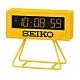 SEIKO 日本精工 倒數計時 電子鐘 鬧鐘(QHL062Y)-黃/9.3X10.4cm product thumbnail 1