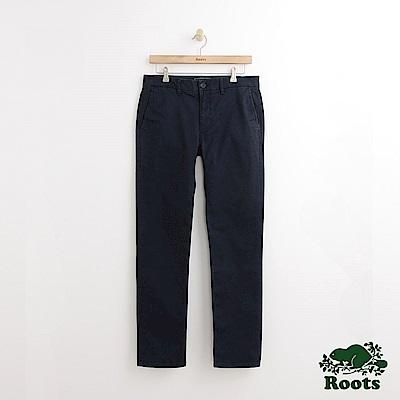 Roots 男裝-金斯頓休閒長褲-藍色