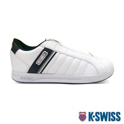K-SWISS Lundahl Slip-On S CMF鞋套式運動鞋-男-白/黑