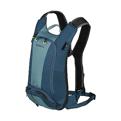 【SHIMANO】UNZEN 6L 自行車水袋背包 愛琴海藍