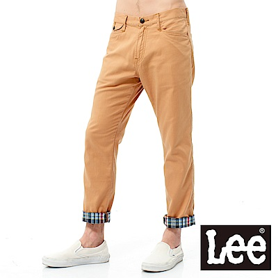 Lee 中腰修身格紋休閒褲 @ Y!購物