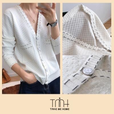 小香風針織外套-2色-TMH