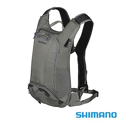 SHIMANO UNZEN 登山車水袋後背包6L 珍珠灰
