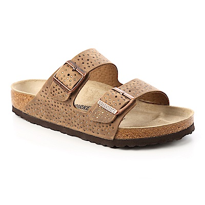 勃肯BIRKENSTOCK 1009658ARIZONA經典二條拖鞋(煙燻咖啡)