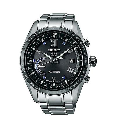 SEIKO精工ASTRON尊爵GPS衛星腕錶-寶石藍8X22-0AH0D/SSE117J1