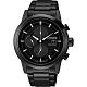 CITIZEN 星辰 Eco-Drive 光動能現代計時碼錶-黑/43mm(CA0615-59F) product thumbnail 1