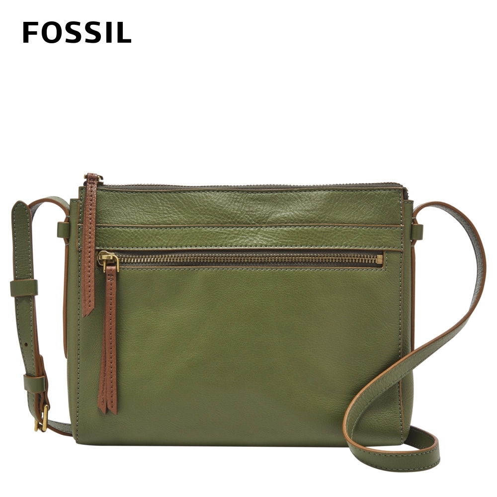 FOSSIL Felicity 真皮側背包-青綠色 SHB2000350 product image 1