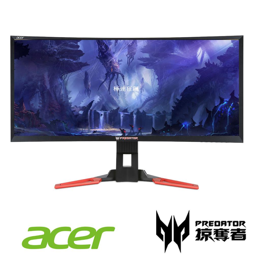 acer Z35 35型 WFHD 曲面電競電腦螢幕 福利品