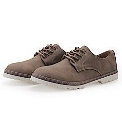 BuyGlasses 綁帶 上班族 皮鞋 休閒鞋-棕