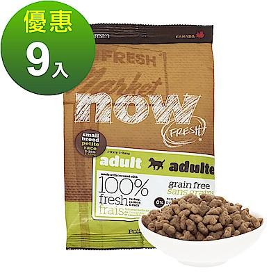 Now! 鮮肉無穀天然糧 小型成犬配方 100克 九件組