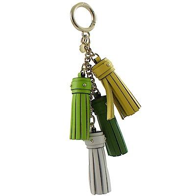 MICHAEL KORS CHARMS流蘇串鑰匙圈(森林綠)