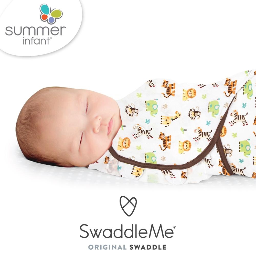 美國 Summer Infant 聰明懶人育兒包巾-動物園