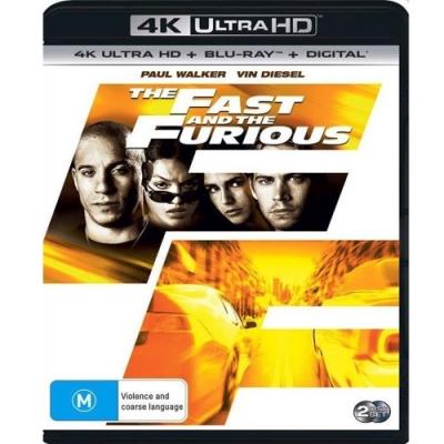 玩命關頭 4K UHD+BD 雙碟版