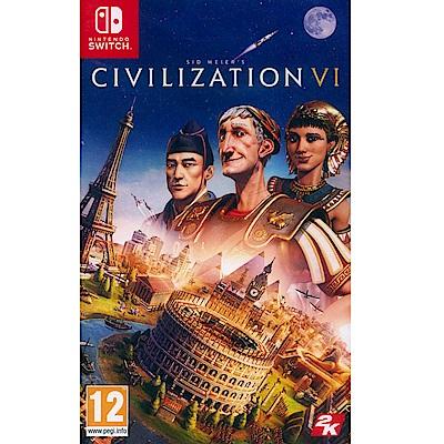 文明帝國 6 Civilization 6 - NS Switch 中英日文歐版