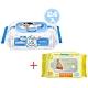 貝恩Baan NEW嬰兒保養柔濕巾80抽24入+黃色小鴨嬰兒柔濕巾(20抽)*1 product thumbnail 1