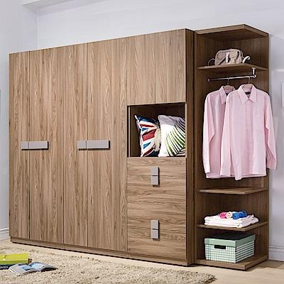 AS-戴納8.5尺衣櫥-258*60*197cm