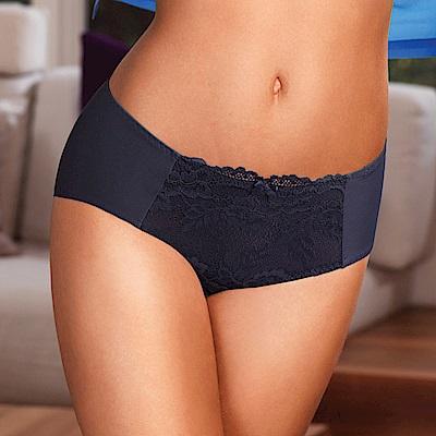 黛安芬-花樣拉提系列平口內褲 M-EL 風格灰
