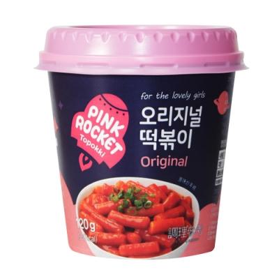 粉紅火箭 辣炒年糕杯(120g)