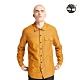 Timberland 男款小麥黃個性多格口袋襯衫|A2BD7 product thumbnail 1