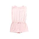 小雛菊 MARGUERITE 粉色針織連身短褲 (90cm~120cm)