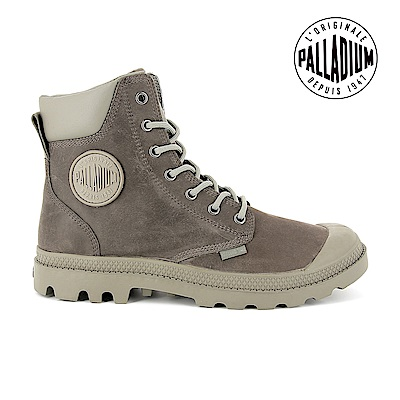 Palladium Pampa Cuff WP Lux防水靴-女-菸草綠