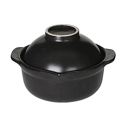 [五福窯] 台灣製 陶瓷燒煮獨享鍋16cm