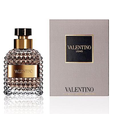 Valentino范倫鐵諾 Uomo同名男性淡香水 100ml