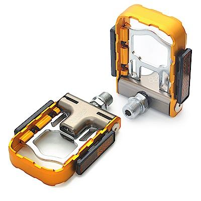SAPIENCE 專利磁吸式折疊踏板 鋁合金培林踏板(YP-126) -金